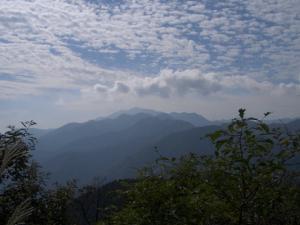 大山 クリックすると写真は大きくなります。