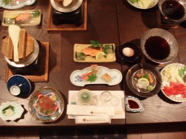 25日の夕食