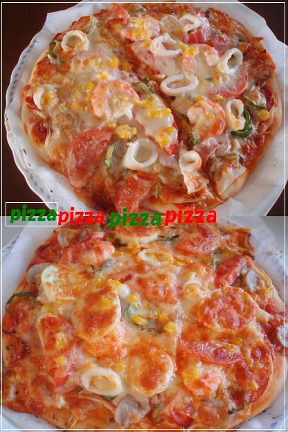 nちゃん、pizza