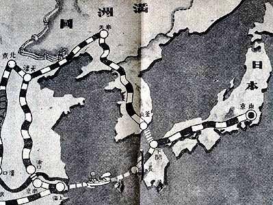 弾丸列車計画図