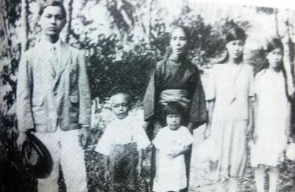 谷豊とその家族