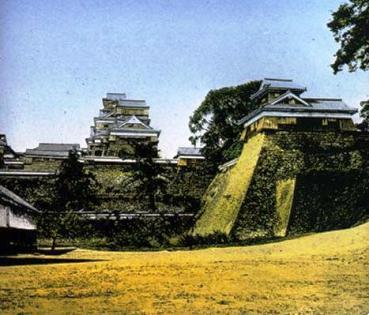 熊本城(明治3年)