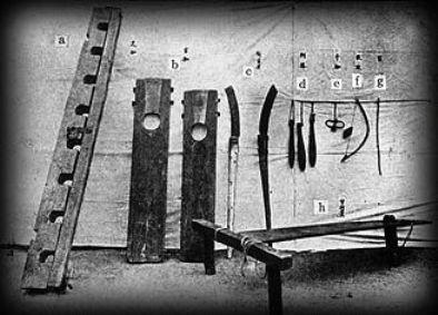 李氏朝鮮時代の拷問機器