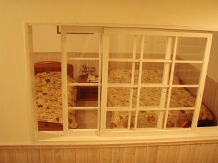 クッチェッタのベッドルーム