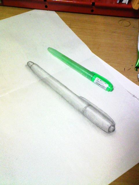 蛍光ペンでっさん