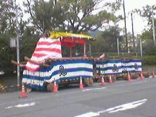 山崎八幡宮の山車