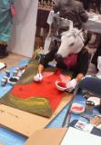 NEC_1126絵を描く馬