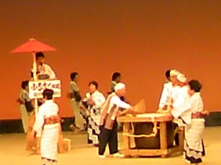 福川の盆踊り