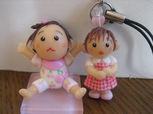 赤ちゃん人形ストラップ