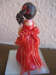 真紅ドレス2