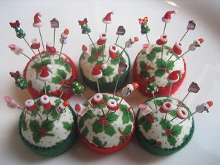クリスマスまち針3