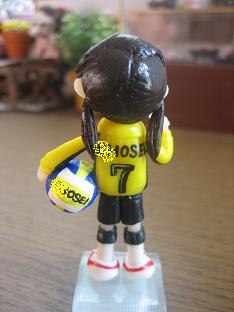 バレーボール人形3