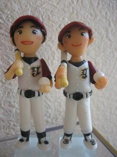 ソフトボール人形