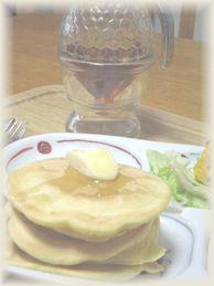 米粉と豆乳パンケーキ