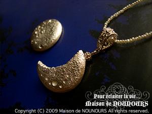 純銀のお月様