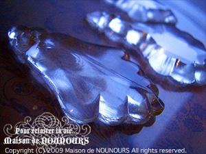 フレンチアンティーク シャンデリアガラス