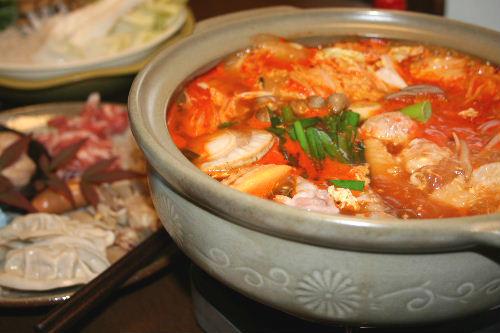 キムチ鍋①