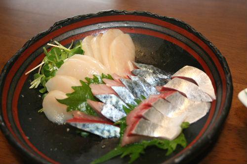 鯖のお刺身