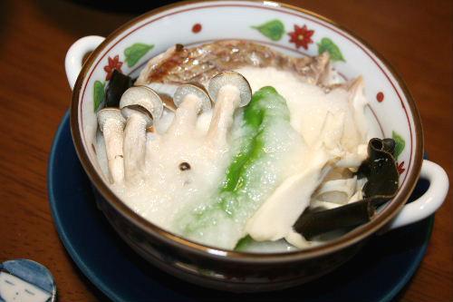 鯛の蒸し物