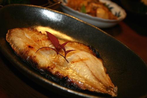 つぼ鯛の塩焼き