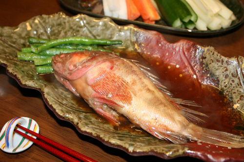 お魚の煮付け