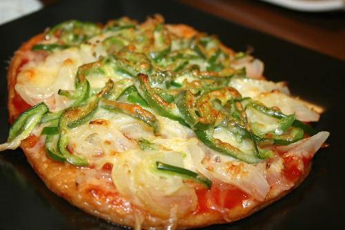 てんぷらピザ