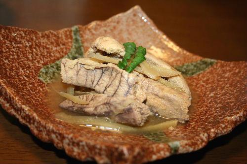 鯖の子の煮物