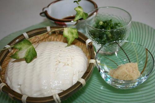 ざる豆腐3