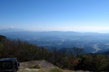 紫尾山から