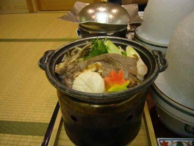 鳴子 夕食 鍋