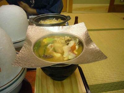 鳴子 夕食 鍋2