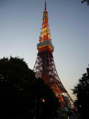 東京タワー 真下