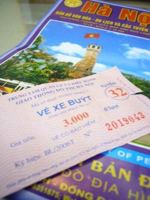 地図と切符