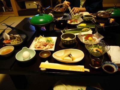 下藤屋 夕食1