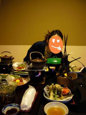 下藤屋 夕食2