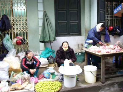 市場 豆腐屋