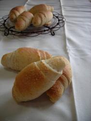 グラハム入りロールパン