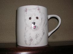 ウエスティのマグカップ