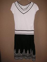 サマーセーター&スカート