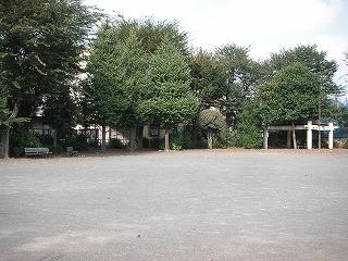 誰も居ない公園