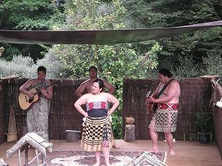 マオリ族のショー