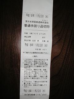 わんこ用切符