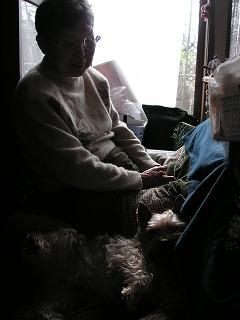 おばあちゃんはおかーたんと同じ匂い