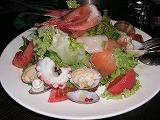 魚貝のアンティパストサラダ