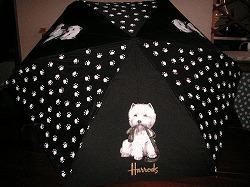 ハロッズの折り畳み傘