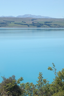 途中見た湖