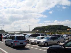 淡路SA停める場所がないくらい車がいっぱい