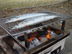 サンマを焼きます!