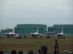 浜松エアフェスタ2009 待機中のサンダーバード2