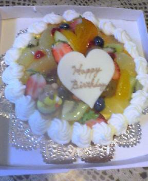 16歳ケーキ